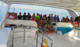 Hurghada dolphin snorkeling trip seafood lunch